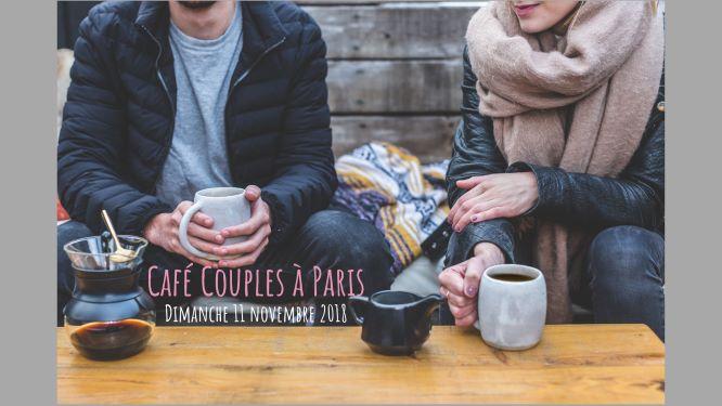 Café couple Paris – 11 Novembre 2018