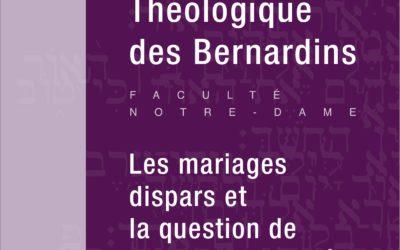 Les mariages dispars et la question de la sacramentalité