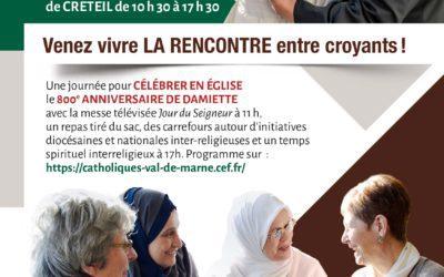 Le diocèse de Créteil célèbre les 800 ans de la rencontre entre St François d'Assise et le Sultan